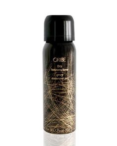 Oribe dry texturizing spray - recommendation from Maskcara, good texture spray good to use when curling hair to get it to hold