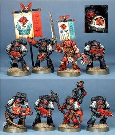 Emperor's Shadows Space Marines is a new chapter to me...