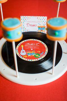 Music Birthday Jam Party Printables Supplies & Decorations | BirdsParty.com