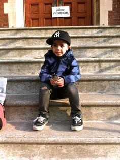 this kid's got his swag on