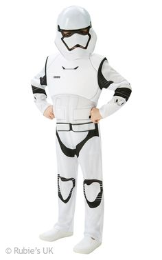 The Force Awakens New Deluxe Star Wars Stormtrooper Boys Fancy Dress Costume. New 2015 The Force Awakens Kids Costumes instock now.