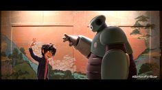 Definitely one of my most favorite scenes! #BaymaxFistBump - Big Hero 6 Clip