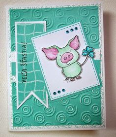 Kika's Designs : Good Luck Card