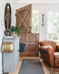 Wood dutch door - lo