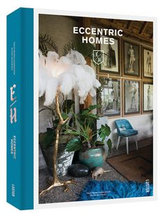 Published by Luster 'Eccentric Homes' is a beautifully presented coffee table book that celebrates original and daring interior choices. Scary Halloween Decorations, Halloween Fun, Interior Design Books, Rose Decor, Welcome Fall, Home Living, Living Room, Fall Collections, Eccentric