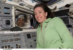 STS-125 Mike Massimino and Megan McArthur