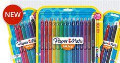 Papermate Inkjoy gel pens College Supplies, School Supplies, Art Supplies, Office Supplies, Papermate Inkjoy Gel Pens, Color Coding Planner, Best Planners, Erin Condren Life Planner, Paint Pens