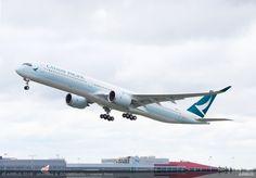 Primul Airbus A350-1000 Cathay Pacific a fost livrat (Foto / Video)