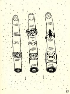 Giving the finger.