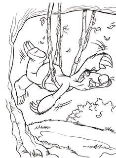coloring page Ice Age 2 on Kids-n-Fun. At Kids-n-Fun you will always find the nicest coloring pages first! Cool Coloring Pages, Animal Coloring Pages, Free Printable Coloring Pages, Coloring Pages For Kids, Free Coloring, Adult Coloring, Coloring Books, Ice Age Birthday Party, Crafts For Girlfriend