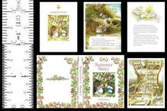 1-6-SCALE-MINIATURE-BOOK-SUMMER-STORY-BRAMBLY-HEDGE-PLAYSCALE-BARBIE