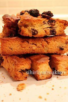 SİHİRLİ PARMAKLAR: Pastane Kurabiyesi(Selanik Keki)
