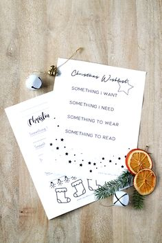 Do you follow the 4 gift rule? This printable 4 gift rule christmas wishlist makes a great keepsake. Get your kids to colour it and keep them each year!