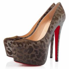 Christian Louboutin Daffodile 160mm Platforms Gold
