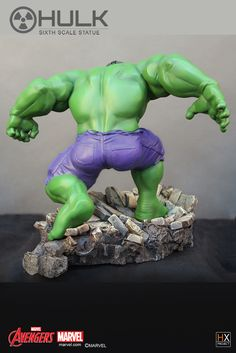 HX PROJECT in collaboration with XM Studios and Hand Made Objects ( H.M.O.) is proud to present, The Incredible HULK. The HULK is shown in his ready pose, ready to take on anyone that has the courage to face him. Hulk is sculpted in a stylistic manner emphasising his personality and hi characteristics perfectly. His muscles are shown in the right proportions within the style. HULKS raw power is felt and seen through his unmovable stance and the force of his step, shatters the ground he…