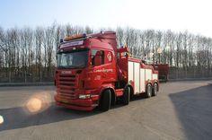 SCANIA R500 , V8 - Comet Bjergning:
