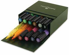 Faber castell pitt brush pen gift box set or really any artist