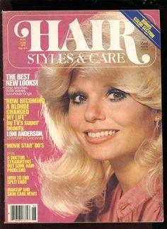 HAIR STYLES & CARE JUNE 1979 LONI ANDERSON, LYNDA CARTER, OLIVA NEWTON JOHN