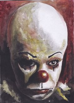 Pennywise by CaseyJRhodesArt on Etsy, $35.00