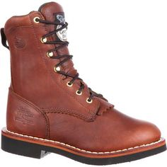 finest selection 11014 0a4a0 Georgia Boot Women s Lacer Work Boots