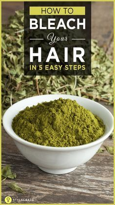 Everyone likes to color hair. It makes one look young and fresh. If you wish to highlight your hair without using the harsh chemical lighteners or color dyes, then there are natural homemade recipes that will help you. Here are top 5 ways that will help to bleach your hair naturally. Read on to know more about it. #BleachHair