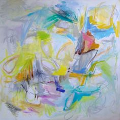 North Wind 2014 oil on canvas 48 x 48 inches ©Trixie Pitts ArtSlant 2014 1st Showcase Winner, Abstract