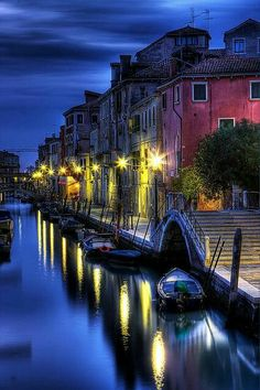 Venice nightscape, Italy  威尼斯夜景,意大利  by photoguystanrb