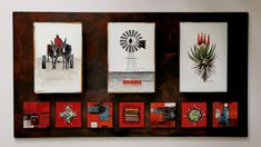Glass Panels, Fused Glass, Gallery Wall, Abstract, Frame, Home Decor, Summary, Picture Frame, Decoration Home