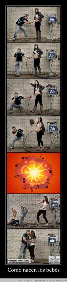 Como Nacen Los Bebes