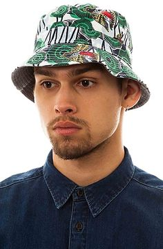 The Gypsy Bucket Hat in Navy by Staple