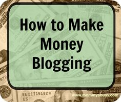 How to Make Money Blogging - An honest look at some of the more popular sponsored post networks available.