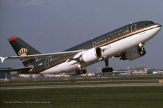 Royal Jordanian Airlines Airbus A310-304 (photo by Ralf Drews)