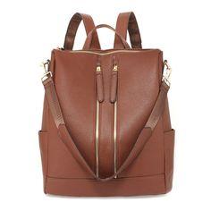 Backpack Coffee Rucksack School Bag – Linen and Bedding