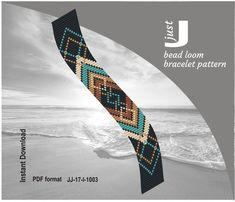 seed bead bracelet patterns for beginners Seed Bead Bracelets Tutorials, Loom Bracelet Patterns, Beaded Bracelets Tutorial, Seed Bead Patterns, Bead Loom Bracelets, Beading Tutorials, Jewelry Patterns, Beading Patterns, Tear