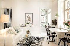 ACHADOS DE DECORAÇÃO - blog de decoração: PEQUENO APARTAMENTO DE 38m2: charmoso, arrojado e lindo