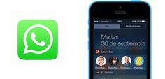 Añade accesos directos a contactos de WhatsApp - http://www.actualidadiphone.com/2014/09/30/anade-accesos-directos-contactos-de-whatsapp/