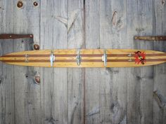 Repurposed Water Ski Towel Rack For Beach Or Boat House - Salvaged Boat Cleat…