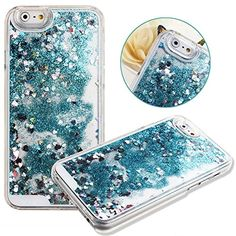 Case for iPhone 6,Cover for iPhone 6,Case for iPhone 6 with 4.7 inch Screen,Hard Case for iPhone 6,NSSTAR Creative Design Flowing Liquid Floating Luxury Bling Glitter Sparkle Heart Hard Case for Apple iPhone 6 with 4.7 inch Screen (Heart:Blue) NSSTAR http://www.amazon.com/dp/B00OTIFLS0/ref=cm_sw_r_pi_dp_CAJpvb02VDWX8