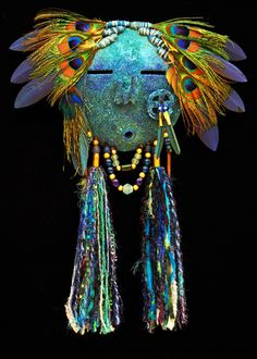 Medicine Bird mask
