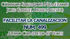CANALIZACION FACILITAR CODIGOS SAGRADOS 499.