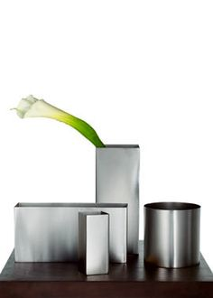 stainless steel vases