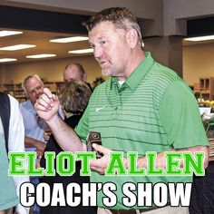 Eliot Allen Coach's Show 090519 Brought to you by Modern Air Solutions Chris Doelle sits down with Brenham ISD Athletic Director and Head Coach, Eliot Allen. Texas High School Football, Story Drawing, I Need To Know, Young People, How To Find Out, Coaching, Athletic, Athlete