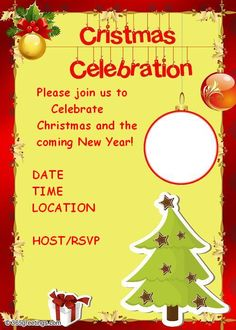 21 best christmas party invitation templates images on pinterest christmas party invitations and christmas party invitation wording stopboris Images