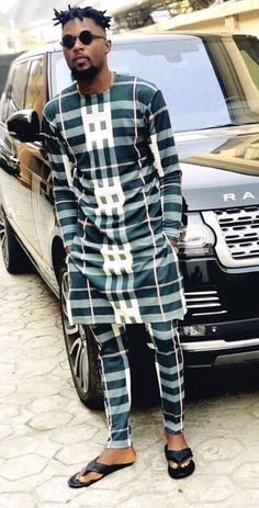 Men's Fashion: Checkout some Neat-Ornamented Native outfit styles for the month of March. African Dresses Men, African Attire For Men, African Clothing For Men, African Wear, African Outfits, Nigerian Men Fashion, Indian Men Fashion, African Fashion, Ankara Styles For Men