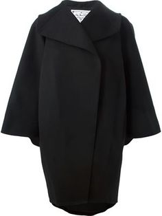 wide sleeve coat