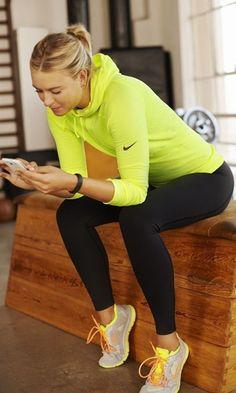 Look: Fitness com Amarelo + Preto