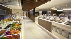 Harbour Restaurant Buffet Counter, 1/F, The Harbourview, Wanchai, Hong Kong