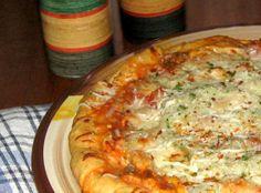A new twist on Fajita that livens up an old favorite. Copycat Recipes, Pizza Recipes, Chicken Recipes, Cooking Recipes, Pizza Food, Jiffy Mix Recipes, Fajita Pizza, Corn Muffin Mix, Pizza