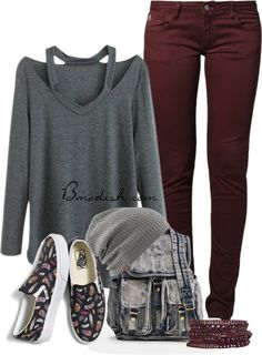 casual back to school outfit idea