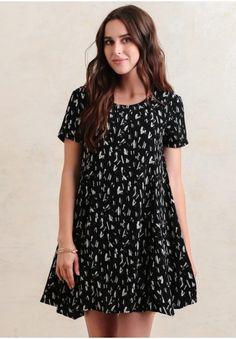 One Last Dance Printed Dress | Modern Vintage Dresses | Modern Vintage Clothing | Ruche